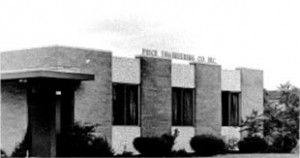 Price Engineering's first building at 121st Street and Bluemound Road in Wauwatosa, WI